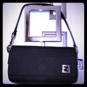 FENDI Handbags - AUTHENTIC FENDI SEMITRACOLLA ZUCCHINO - BRAND NEW