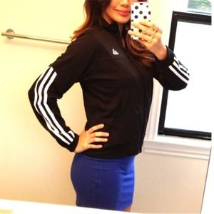 Adidas Jackets & Blazers - Adidas black track jacket!