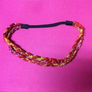 Magenta/Red headband thing