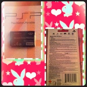 SONY Accessories - 🎉SALE💜💓4 GB Memory Stick PRO Duo!BRAND NEW💓💜