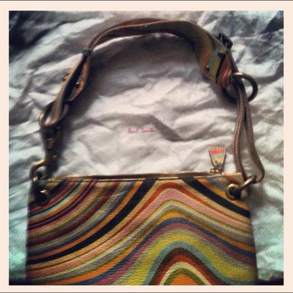 07e137b35 Paul Smith Bags | Swirl Design Pebbled Leather Bag | Poshmark