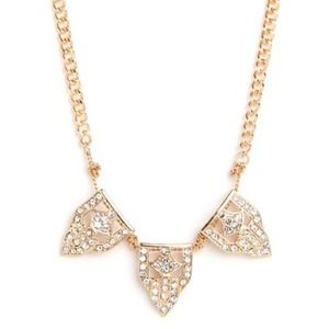 HOST PICK BaubleBar Triple Deco Pendent Necklace