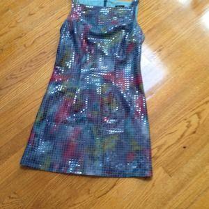 Fun sheath dress with great texture