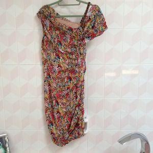 Catherine Malandrino  100% silk dress