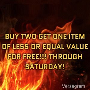 Other - Buy two items get one free!!