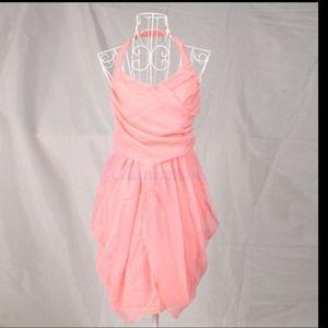 💖😍 Elegant pink halter dress 😊