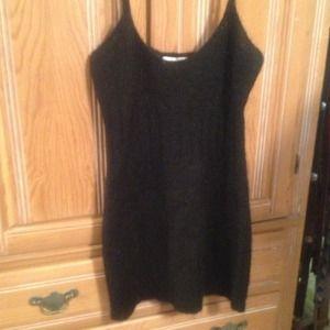 Dresses & Skirts - Mohair black mini dress