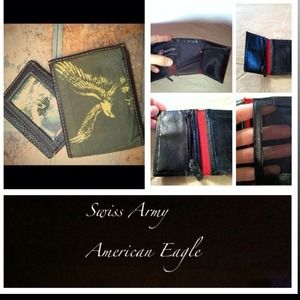 American Eagle Outfitters Clutches & Wallets - AE Swiss Army mans wallets