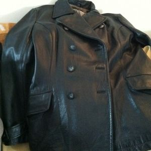 Jackets & Blazers - Kenneth Cole, Reaction Leather Jacket