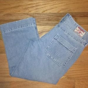 True Religion Denim - True Religion Jeans Capris Cropped sz 31