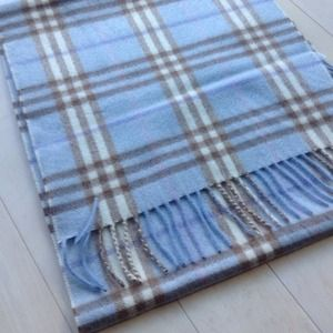 Burberry Accessories - Burberry cashmere check scarf