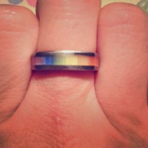 Jewelry - Sterling Silver Rainbow Ring