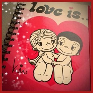 """Love is..."" notebook"