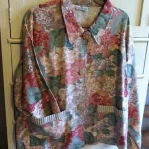 Jackets & Blazers - Lightweight Handmade Floral Jacket/Blazer