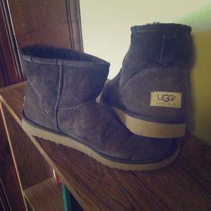 Authentic Brown Suede Classic Short Uggs