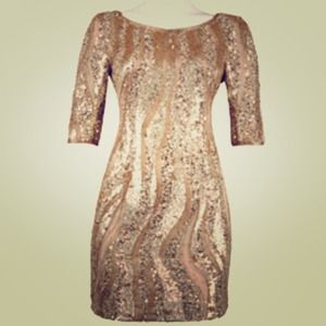 Adrianna Papell Dresses & Skirts - Beautiful Adrianna Papell Sequined Dress