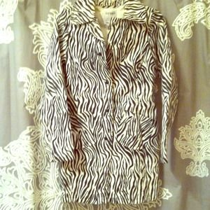 Old Navy Jackets & Blazers - Zebra Coat