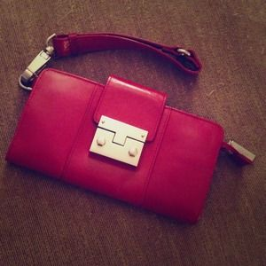 Hobo Clutches & Wallets - Hobo leather wristlet