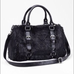 Handbags - *Reduced price! * Faux fur handbag
