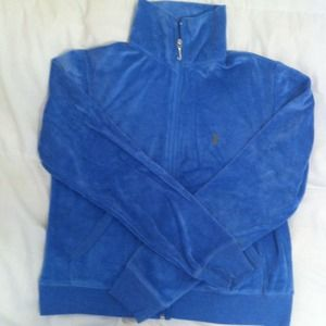 Juicy Couture Sweaters - Blue Juicy Couture Zip Up