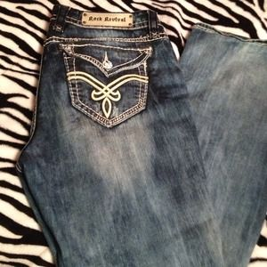 Denim - 👍Reduced price!👍Rock revivals! Gently Used