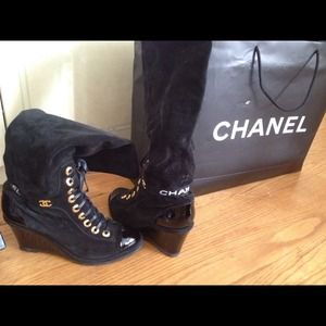 Authentic Chanel boots from Italy