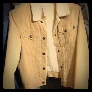 Abercrombie Yellow Jacket