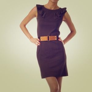 Dresses & Skirts - 🎉Sale! LAST ONE! Brown Belted Dress