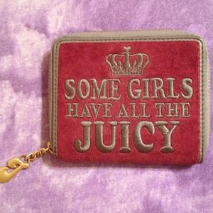 Juicy Couture Clutches & Wallets - 🔴RESERVED: araceli09 Authentic Juicy  wallet