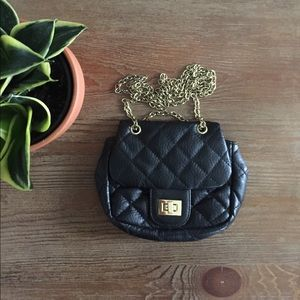 Handbags - Host Pick🔅 Small Black Quilted Purse