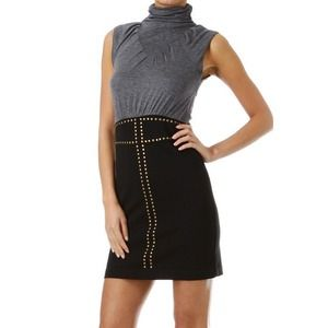 Dresses & Skirts - Turtleneck Dress w/ Studs
