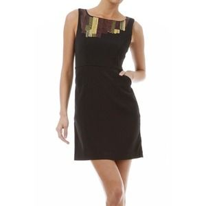 Dresses & Skirts - Black Sleeveless Dress w/ Sequins