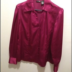 Tops - New wine color shirt.
