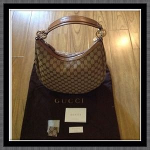 Gucci Handbags - 🔴REDUCED🔴GG twins medium hobo w/ interlocking G