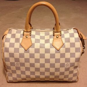 Louis Vuitton Handbags - 😍AVAILABLE - LOUIS VUITTON SPEEDY DAMIER AZUR 25
