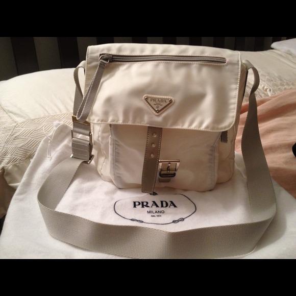 153b46fc2c2f ... good white prada messenger bag with pockets 295a8 44bc3