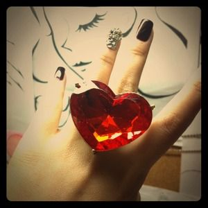 Jewelry - Host Picked huge heart ring