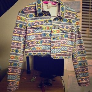 Size small tribal jacket