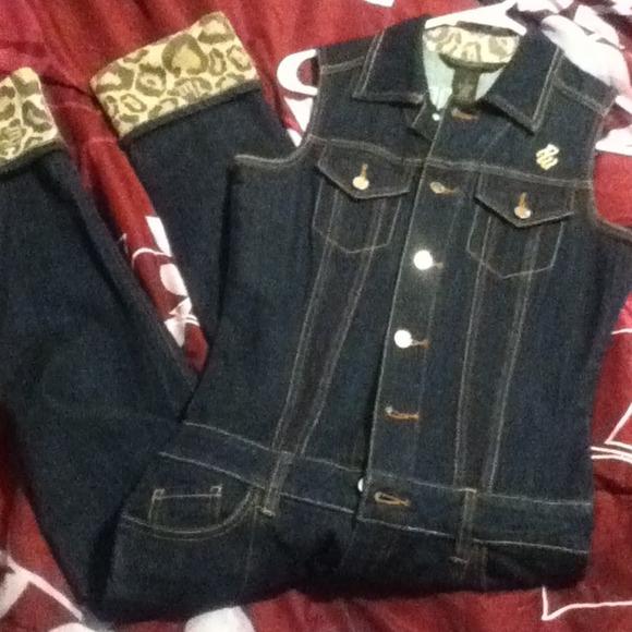 Rocawear Jeans One Piece Jean Jumpsuit Poshmark
