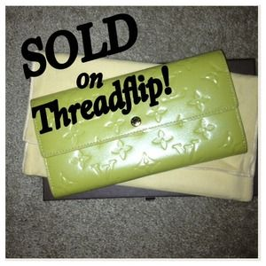Louis Vuitton Clutches & Wallets - SOLD!!Louis Vuitton wallet