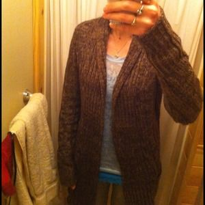 Maurices Sweaters - ⛔Sold in bundle⛔Long soft brown cardigan sweater