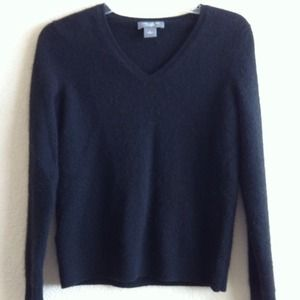 Ann Taylor Cashmere Sweater (black)