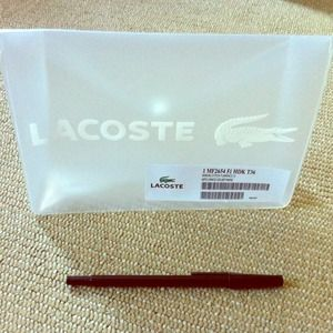 Lacoste Handbags - FINAL! NWT Lacoste Multipurpose Case/Bag