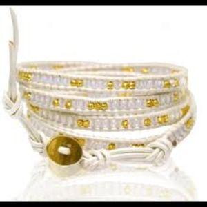 Chan Luu wrap bracelet.