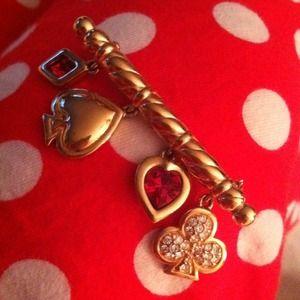🎁Good luck pin with heart, club, diamond, spade