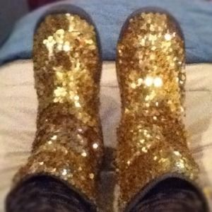Boots - **Reserved for @viczen**Sequin Boots