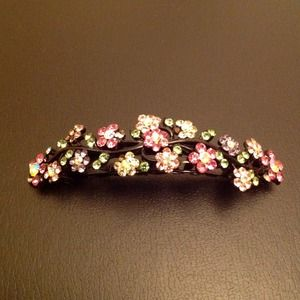 Accessories - Crystal Hair Clip 💜reduced price💜