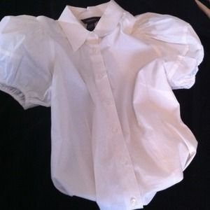 Tops - VICTORIA SECRET WHITE BUTTON DOWN