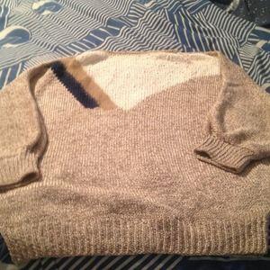 Sweaters - Ribbon knit sweater