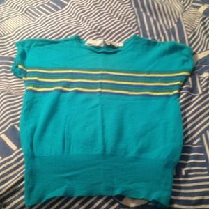 Sweaters - Turquoise made in Italy wool sweater